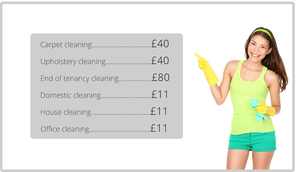 great deals on cleaning services in nw1 region